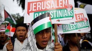 Muslime in Indonesien protestieren gegen Trumps Anerkennung Jerusalems als Hauptstadt Israels; Foto: Reuters/D. Whiteside