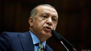 Der türkische Präsident Recep Tayyip Erdoğan; Foto: Reuters/T. Berkin