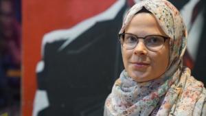 Die finnische Islamophobie-Forscherin Linda Hyökki; Foto: Marian Brehmer