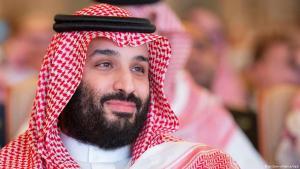 Der saudische Kronprinz Mohammed bin Salman bei einer Investorenkonferenz am 28.10.2018 in Riad; Foto: picture-alliance/dpa