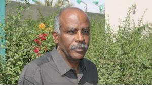 Der mauretanische Autor Mbarek Ould Beyrouk; Quelle: Elyzad, Tunisia