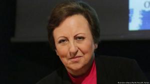 Friedensnobelpreisträgerin Shirin Ebadi; Foto: picture-alliance