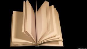 Buch mit unbedruckten Seiten; Foto: Imago/Chromorange