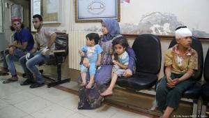 Krankenhaus in der syrischen Provinz Idlib; Foto: MAR HAJ KADOUR/AFP/Getty Images