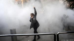 Proteste gegen die Regierung in Teheran; Foto: Getty Images/AFP/STR