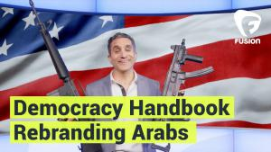 "Bassem Youssefs ""Democracy Handbook"": Folge ""Rebranding Arabs""; Quelle: youtube"