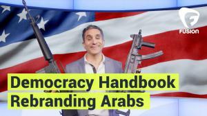 "Bassem Youssefs ""Democracy Handbook"": Folge ""Rebranding Arabs""; Quelle: youtube"