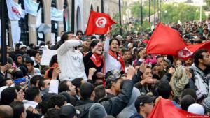 Die Proteste im Winter 2010/2011 führten zum Sturz von Machthaber Zine El Abidine Ben Ali; Foto: Imago/Kyodo News