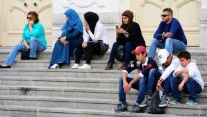 Arabische Jugendliche; Foto: AFP/Getty Images