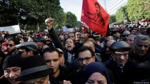 Die Proteste im Winter 2010/2011 führten zum Sturz von Machthaber Zine El Abidine Ben Ali; Foto: Reuters