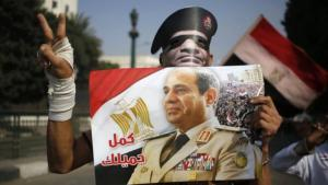 Wahlkampf für Abdel Fattah al-Sisi in Kairo; Foto: AFP/Getty Images