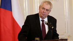Der tschechische Staatspräsident Miloš Zeman; Foto: picture-alliance/AP