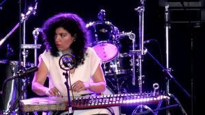 Das Maya Youssef Trio auf dem Musicport World Music Festival 2017; Foto: YouTube