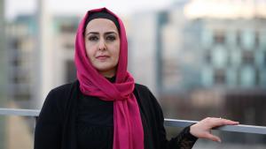 Die muslimische Lehrerin Fereshta Ludin; Foto: dpa/picture-alliance