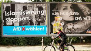 AfD-Wahlplakat in Berlin Kreuzberg; Foto: picture-alliance/dpa