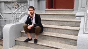 """Joobin Bekhrad ist Gründer und Herausgeber von """"Reorient"""", einem Online-Magazin für zeitgenössische Kunst aus dem Nahen Osten; Foto: Joobin Bekhrad"""