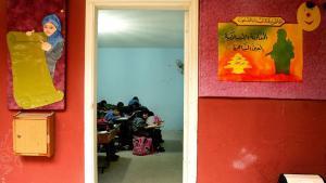 Libanesische Schülerinnen und Schüler in einer politischen Islamschule; Foto: AFP/Raseef 22
