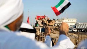 Militärparade Vereinigte Arabische Emirate; Foto: picture-alliance/dpa/Emirates News Agency