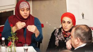 Filmregisseurin Danya Alhamrani (links) und Produzentin Dania Nassief; Foto: Jördis Zähring