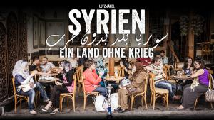 """Buchcover Bildband """"Syrien. Ein Land ohne Krieg"""" im Verlag Malik. Foto: Lutz Jäkel"""