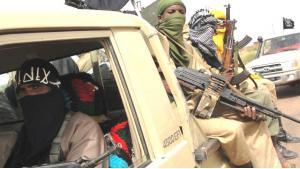 Islamistenmiliz Ansar al-Din in Mali; Foto: AFP