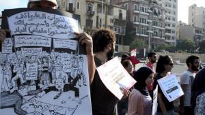 Proteste gegen Müllkrise in Beirut im Sommer 2015; Foto: © Antoine Abou-Diwan/Goethe.de