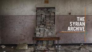 """Webseite """"The Syrian Archive""""; Quelle: syrianarchive.org"""