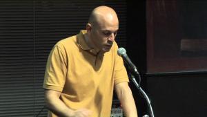 Der palästinensisch-amerikanische Dichter und Arzt Fady Joudah; Foto: Milkweed Editions