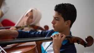 Sabri Mili (r.), Teilnehmer des Future Lab in Tunis; Foto: Future Lab Tunisia