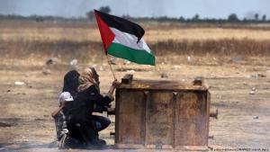 Palästinenser-Proteste im Gazastreifen vom Mai 2018; Foto: picture-alliance/ZUMAPRESS.com