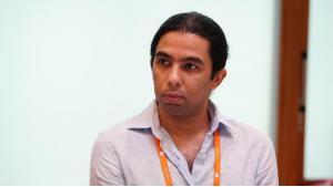 """Amr Gharbeia, Technologie- und Menschenrechtsbeauftragter der """"Egyptian Initiative for Personal Rights""""; Foto: DW"""