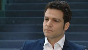 """Ofer Waldman, Vorstandsvorsitzender des """"New Israel Fund Deutschland""""; Foto: DW"""