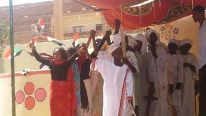 """""""Cool School""""-Bildungskampage der Organisation """"Bildung ohne Grenzen"""" im Sudan; Foto: Facebook/Education without Borders Sudan"""