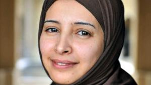 Die Aktivistin, Journalistin und Autorin Bushra al-Maqtari; Foto: privat