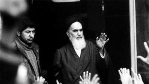 Revolutionsführer Ayatollah Ruhollah Khomeini; Foto: Reuters