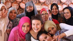 """Frauenselbsthilfe-Projekt """"Amal"""" in Marrakesch; Foto: amalnonprofit.org"""