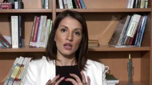 Extremismusforscherin Dalia Ghanem-Yazbeck; Quelle: YouTube