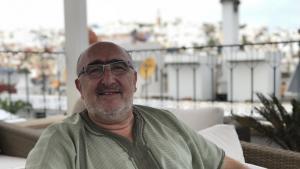 Der Anthropologe und Buchautor Dieter Haller; Foto: Karima Ahdad