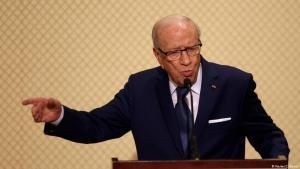 Tunesiens Präsident Beji Caid Essebsi; Foto: Reuters
