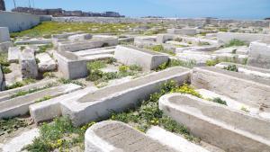 Der jüdische Friedhof in Essaouira, Marokko; Foto: Claudia Mende