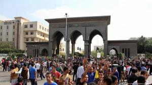 Campus der Al-Azhar-Universität in Kairo; Foto: picture-alliance/dpa/AA/A. Ramadan