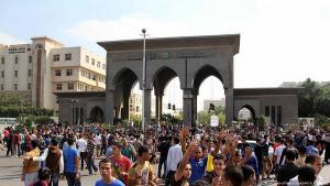 Campus der Al-Azhar-Universität in Kairo; Foto: picture-alliance/dpa/AA/A. Ramadan