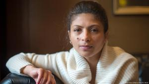 Die saudische Menschenrechtsaktivistin Ensaf Haidar; Foto: picture-alliance/dpa