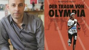 Reinhard Kleist; Foto: © anjazwei.de / Buchcover Der Traum von Olympia; Foto: © Carlsen-Verlag