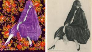 """In weiten Teilen der westlichen Welt wird das Wort Kopftuch heute automatisch mit Religiosität assoziiert. Doch die Idee, den Kopf mit Stoff zu bedecken, geht weit über religiöse, kulturelle und geografische Grenzen hinaus. Die Ausstellung """"Verhüllt, enthüllt!"""" im Weltmuseum Wien zeigt die Vielfalt des Kopftuchs."""