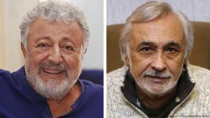 Die bekannten türkischen Schauspieler Metin Akpınar und Müjdat Gezen; Foto: picture-alliance/abaca/Depo Photos