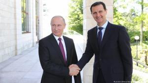Russlands Präsident Präsident Wladimir Putin und Syriens Präsident Baschar al-Assad; Foto: picture-alliance/dpa/Sputnik