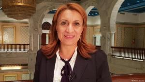 Die erste Bürgermeisterin von Tunis Souad Abderrahim, Foto: DW/ N. Alsarras