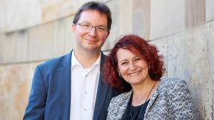 Michael Blume und Zehra Tayanc; Foto: Rahel Täubert