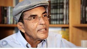 Der libysche Schriftsteller Ibrahim al-Koni; Quelle: YouTube
